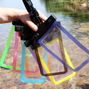 Universal mobile dry bag swimming water proof phone case for smartphone waterproof pouch for iphone 7
