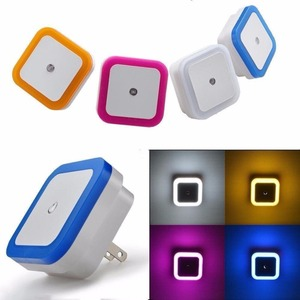 Baby Bedroom Auto Sensor Square US Plug Led Night Light
