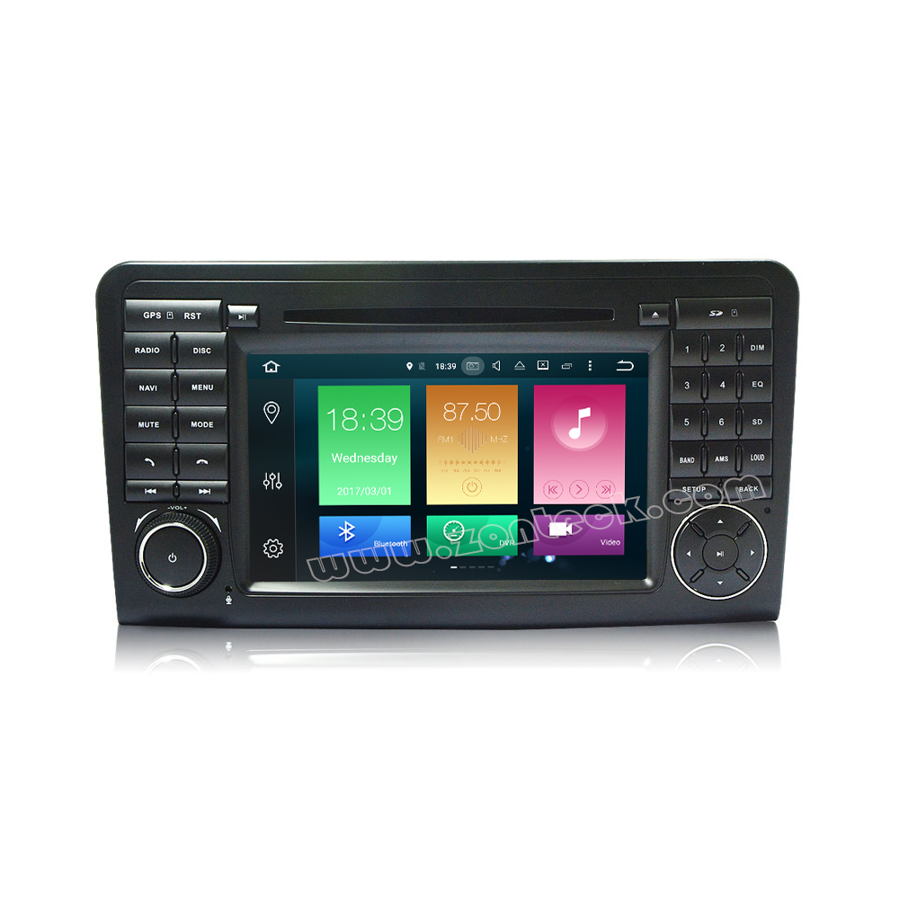Zonteck ZK-6577L Android 6.0 Car Stereo 8 Core for Mercedes ML W164 X164
