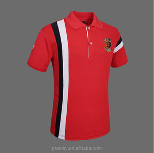 Factory wholesale bangladesh cotton embroidered polo shirts