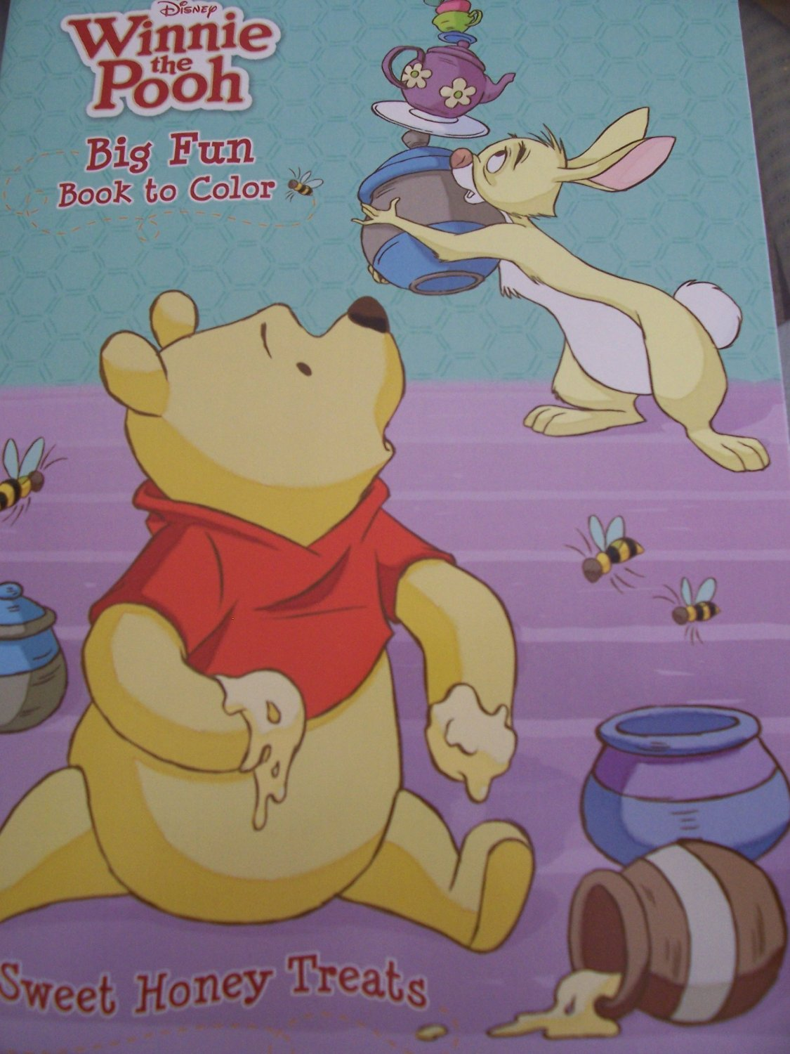 Disney Winnie the Pooh Coloring & Activity Book ~ Sweet Honey Treats