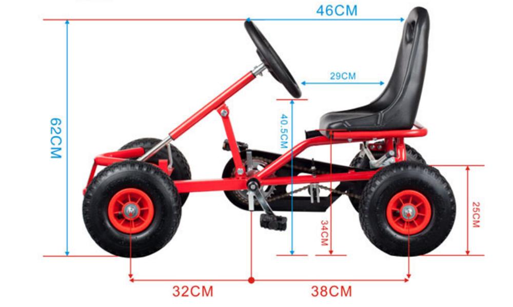 Kids Adult Car Pedal Go Karts Go Kart Cars Mini Monster
