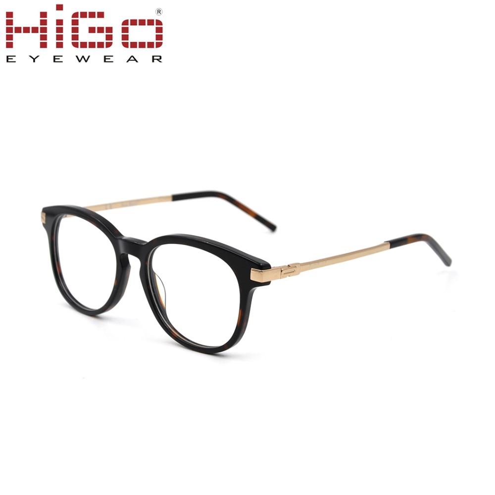 a72776d0ad Lunettes 2019 OEM de marque de mode à la main pas cher acétate montures de  lunettes