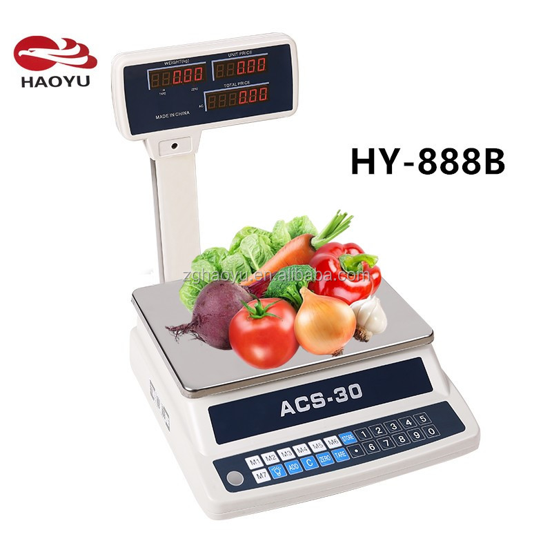 HY-888B RS232 Electronic Price Computing Scale <strong>Balance</strong>