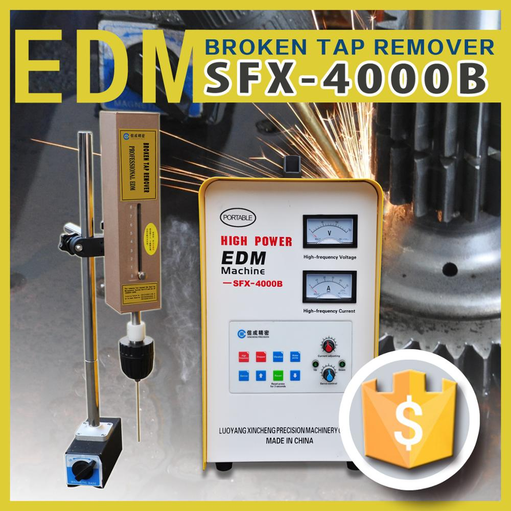 SFX-4000B Mobile EDM Erosing Machine Small Hole Drilling Tap EDM Burner Manufacture
