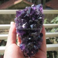 nice wholesale deep color natural amethyst quartz rough rock crystal clusters,amethyst geode brazil wholesaler