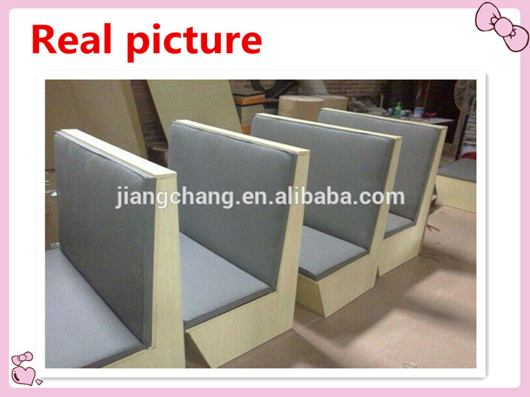 Comfortable Leather Bar Sofa Restaurant Booths For Sale Jc S110