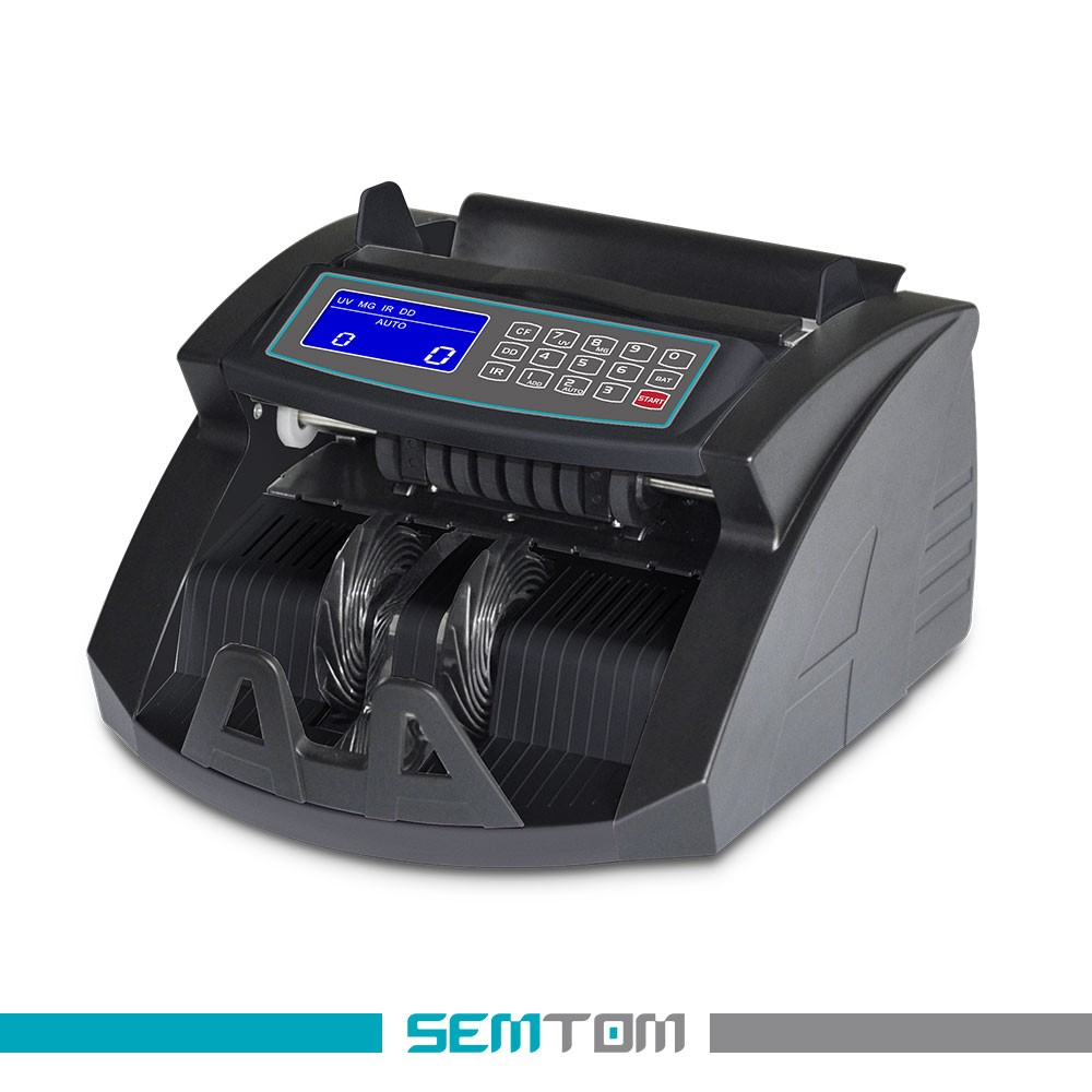 Bill Counter with Counterfeit Detection Multi-Currency Counting Machine