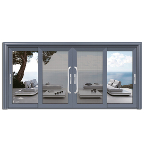 cool extrusion aluminium doors prices/ strong screen net door