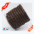 2018 high quality genuine cow leather 10mm bolo cording braided round