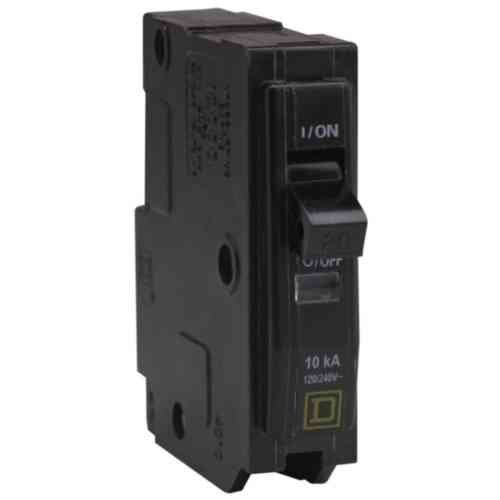 Your One Source QO120CP 20-Amp 1-Pole Plug-On Circuit Breaker