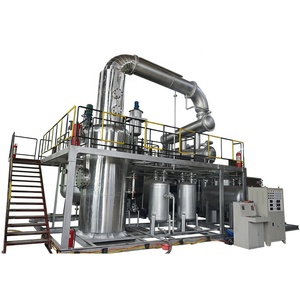 Mobile Oil Treatment Car Oil Recycling Plant
