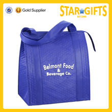 Alibaba China custom market center promotional insulated bag for frozen food