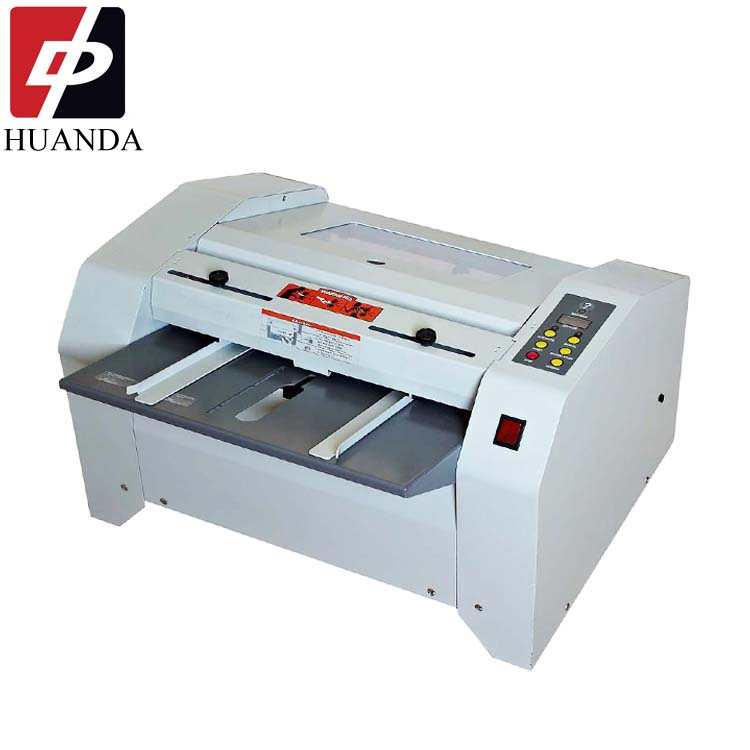 HD-ZY2 Hot Melt Desktop Lijm Druk Perfect Boekbinderij Binder Machine