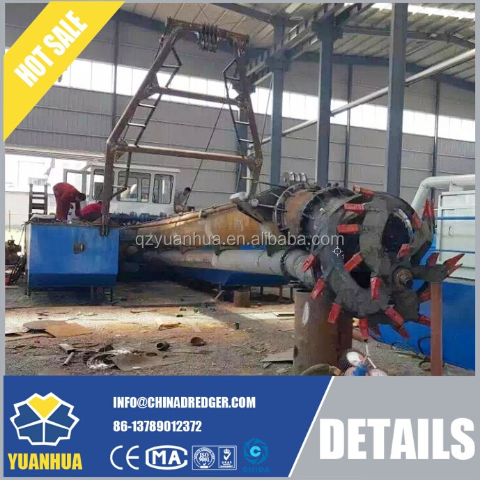 Very popular hydraulic cutter suction dredger