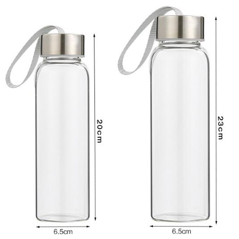 Topoem wholesale  glass water bottle different types water bottles
