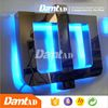 DMT AD China chengdu acrylic aluminum led light letter