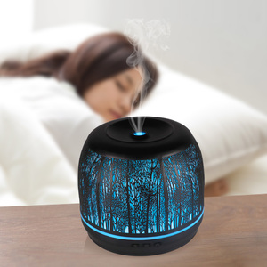 2019 Trending Products colorful 500ML Metal Essential Oil Diffuser aroma diffuser