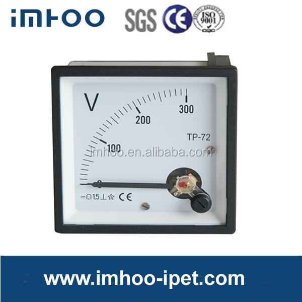 Analog Panel Voltmeter 72*72 Dc 300v Auto Digital Voltmeter