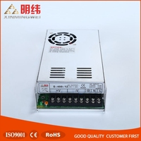 Factory outlet S-400-12 Switching Power Supply 400W 12V 0-33A