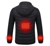 Winter Outdoor ski USB Battery Smart Heated warm Jacket for men