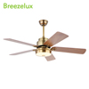 2018 hot sale house decorative luxury design 52 inch modern ceiling fan