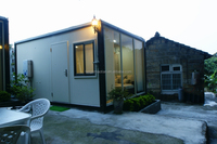 Multi function container house with bathroom
