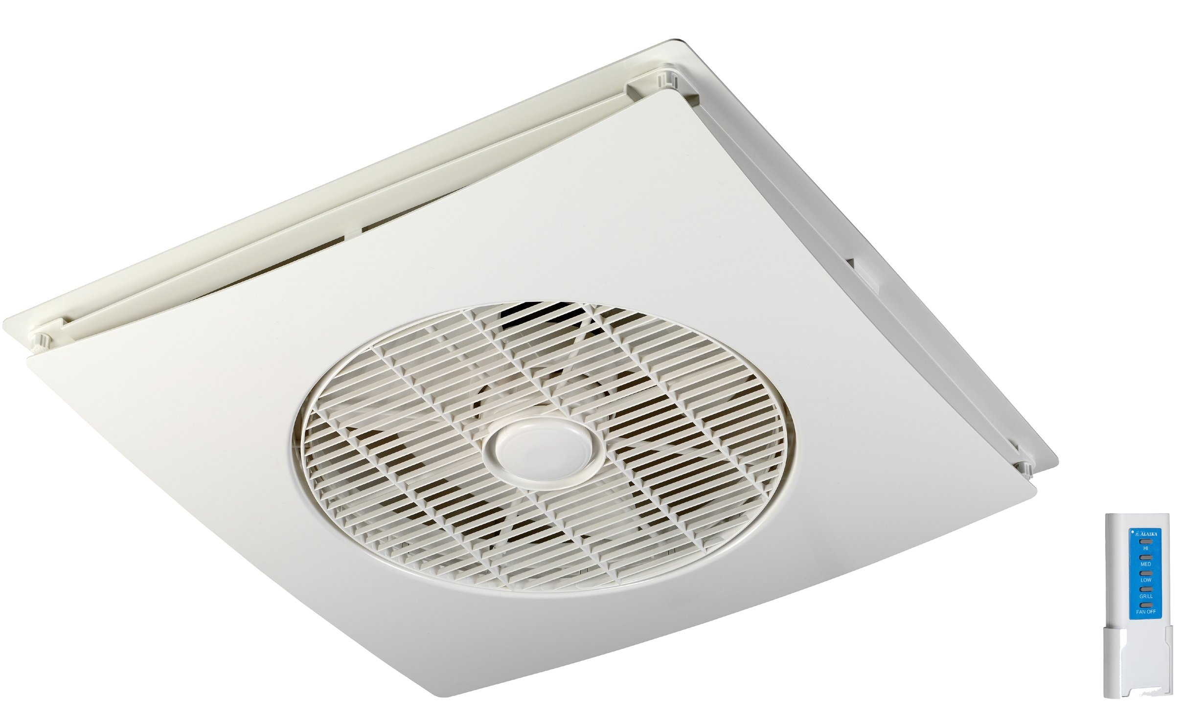 Model: SA-398 - Drop Ceiling Tile Fan With Remote Control
