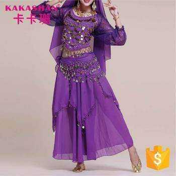 4c77fd90977d Professional Women Dance Wear Sex Egypt Plus Size Belly Dance Costume Set