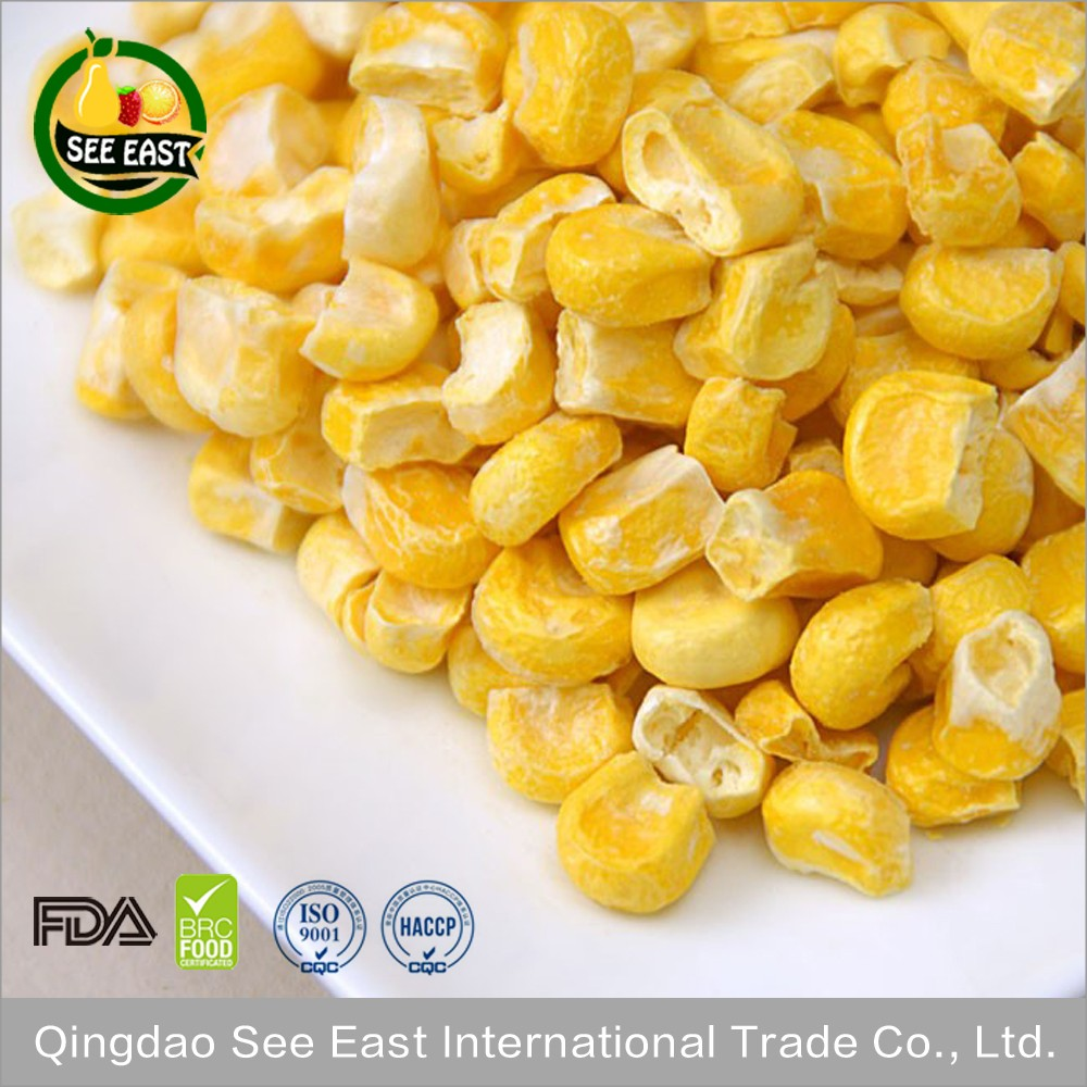 FD vegetable freeze dried sweet <strong>corn</strong> dried yellow <strong>corn</strong>