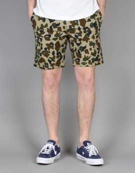 Custom Cheap Cargo Pants Men's Slim Straight Shorts Duck Camo Navy Cargo Pants For Men