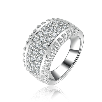 bague or blanc diamant large