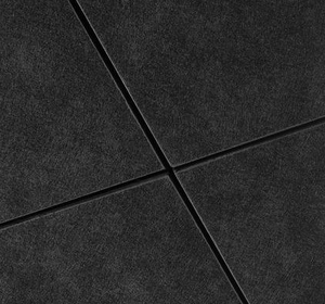 Acoustic ceiling tile 600x600 A1 fireproof acoustic ceiling panel black fiberglass ceiling board for cinema