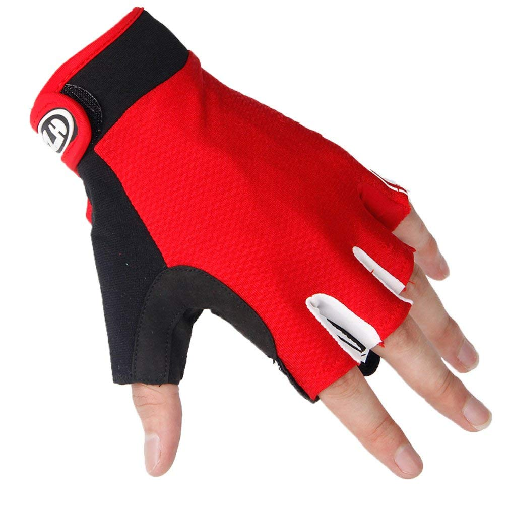 Cycling Gloves Half Finger Anti-skid Bicycle MTB Road Bike Mittens Summer Riding