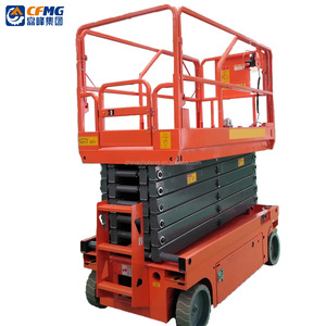 Canton Fair 2 / 3 / 4 / 5 / 6M Adjustable Full Auto Hydraulic Lifting Machine / Scissor Lift Machansim