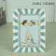 Jinnhome High Quality Good Memory Metal Oil Painting Picture Photo Frame Alloy Picture Frame Family lover Photo Frame