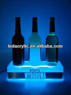 WYBOROWA WODKA ILLUMINATED BOTTLE DISPLAY