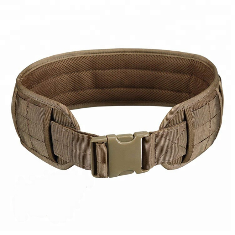 Heavy duty Adjustable Protecting Fastener Army Military Tactical Belt With Buckle