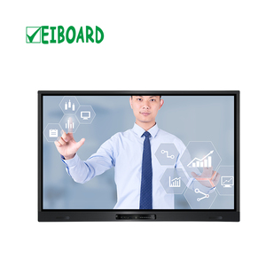 65''multi touch screen tv LCD interactive smart board touch tv