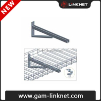 Galvanized solid cable tray stainless steel wire basket
