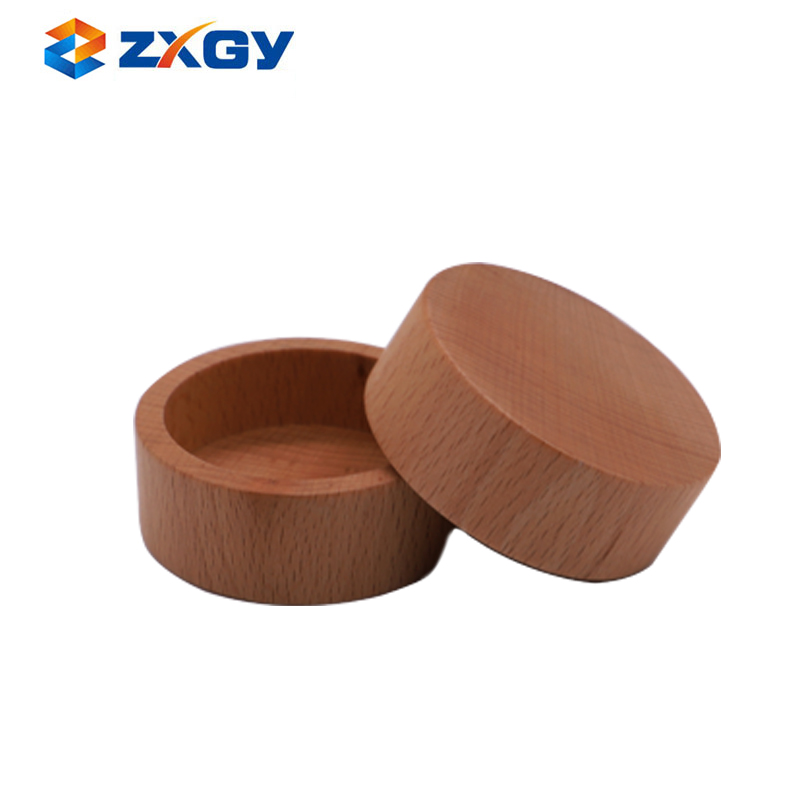Factory Sale Custom Wooden Lid For Cosmetic Cream Jars