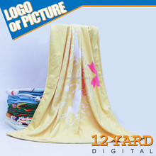 Super Popular Soft Plain Coral fleece Blanket ,Rolled up Travel Blanket with Handle Made in China sleeping blanket