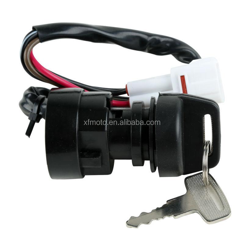 Ignition Key Switch 1995-2001 1996 1997 1998 1999 00 Yamaha wolverine 350 YFM350