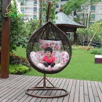 Indoor Outdoor Patio Bedroom Balcony Rattan Wicker Easy Graco Baby Hanging  Egg Swing Chair