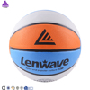 Lenwave brand high quality rubber basketball,customize your own balls basketball,youth basketball