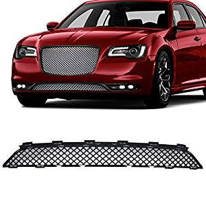 For Chrysler 300 Front Mesh Grill Gloss Black Bentley Style Grille 2011 to 2015