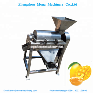 Full stainless steel apple pulping machine/ fruit crushing pulp making Machine/Cherry Pitting and beater Machine