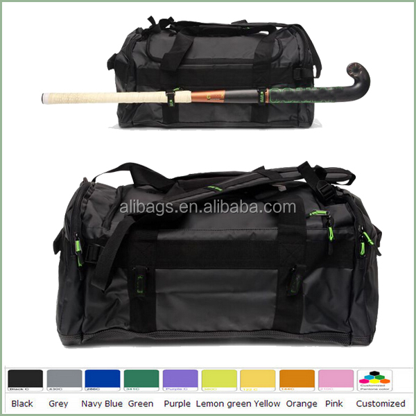 High quality waterproof trapaulin wholesale hockey stick duffle bag