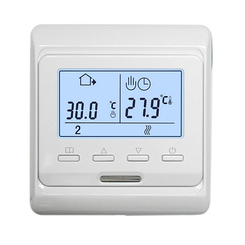 Flush Mounted Underfloor Heating Electrical Room Thermostat
