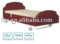 wooden home care type electric bed for nursing room